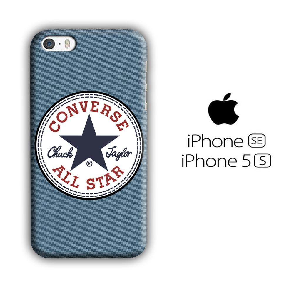 Converse Jeans iPhone 5 | 5s 3D coque custodia fundas