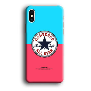Converse Sky of Twilight iPhone X 3D coque custodia fundas