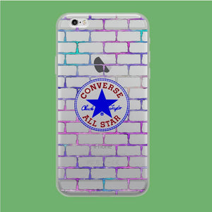 Converse Wall of Fame coque iPhone 6 Plus | iPhone 6s Plus Clear
