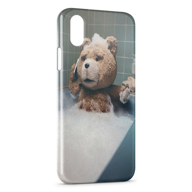Coque iPhone XR Ours Ourson Bear Transparente souple