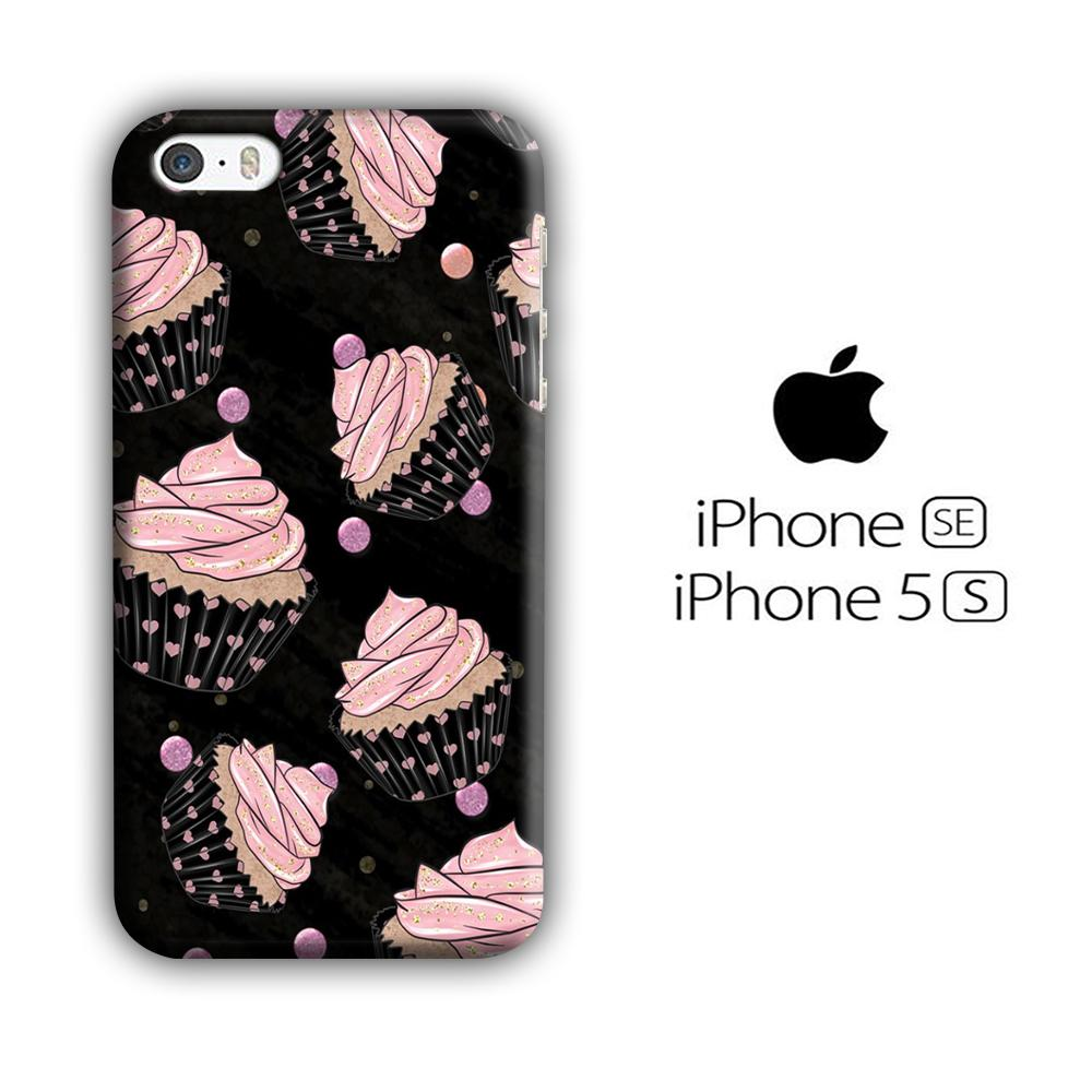 Cup Cake Pink Love iPhone 5 | 5s 3D coque custodia fundas