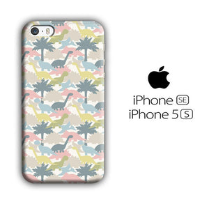Dinosaur Pattern 002 iPhone 5 | 5s 3D coque custodia fundas