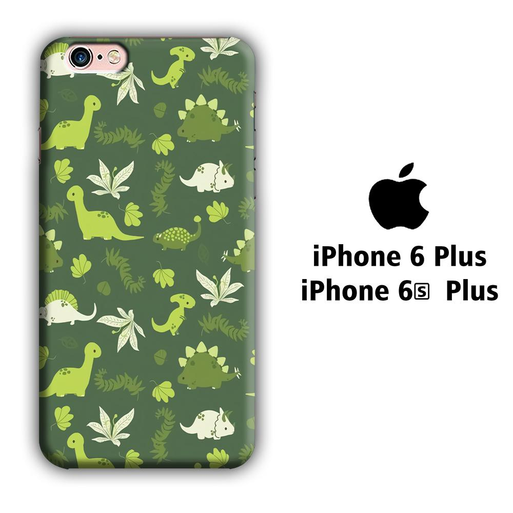 Dinosaur Pattern 005 iPhone 6 Plus | 6s Plus 3D coque custodia fundas