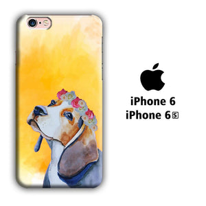 Dog Beagle Flower iPhone 6 | 6s 3D coque custodia fundas