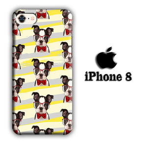 Dog French Bulldog Cute iPhone 8 3D coque custodia fundas