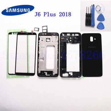 Coque FORCELL Carbono Samsung Galaxy J6+ Plus