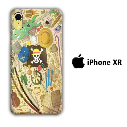 One Piece Patern iPhone XR 3D coque custodia fundas