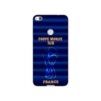 Coque Huawei P8 Lite (2017) coupe monde football 2018 taille unique France