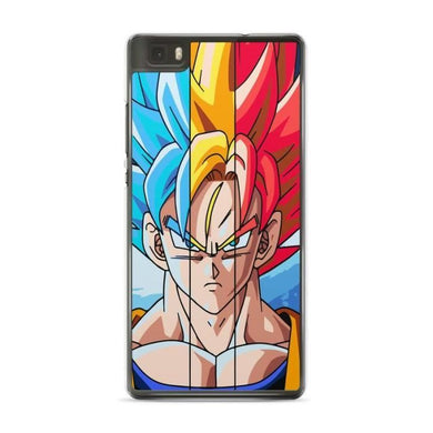 Coque Huawei P8 LITE ( 2017 ) Dragon Ball Z Sangoku Sangohan Super GT Goku  Gohan Vegeta Saiyan DBZ hard case Model 12