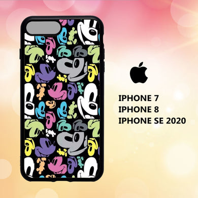 coque iphone 5 6 7 8 plus x xs xr case B2908 mickey mouse wallpaper iphone 71iI0