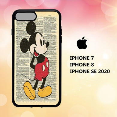 coque iphone 5 6 7 8 plus x xs xr case O2708 mickey mouse wallpaper iphone 71rZ4