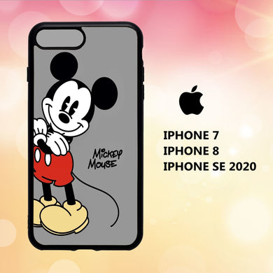 coque iphone 5 6 7 8 plus x xs xr case Y0129 mickey mouse wallpaper iphone 71yN8