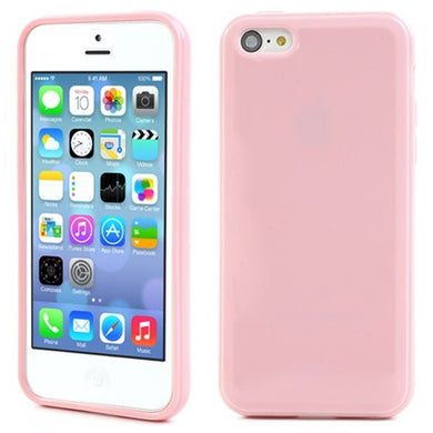 Coque Apple Original pour Apple iPhone 5c Rose sillicone case