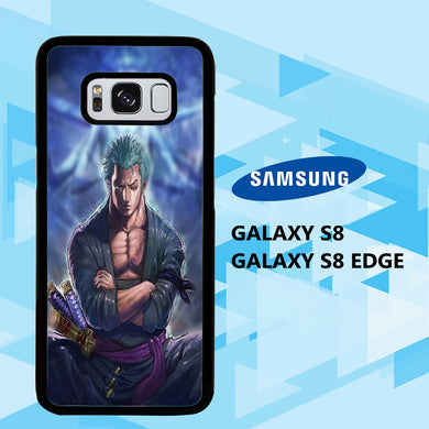 coque samsung galaxy S6 S7 S8 S9 S10 edge case D0142 zoro wallpaper 148mI8