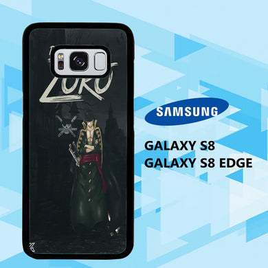 coque samsung galaxy S6 S7 S8 S9 S10 edge case D2572 zoro wallpaper 148gR0