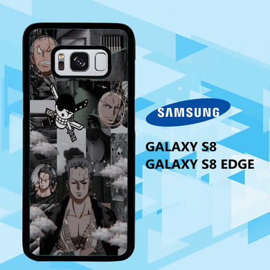 coque samsung galaxy S6 S7 S8 S9 S10 edge case P6803 zoro wallpaper 148qZ1
