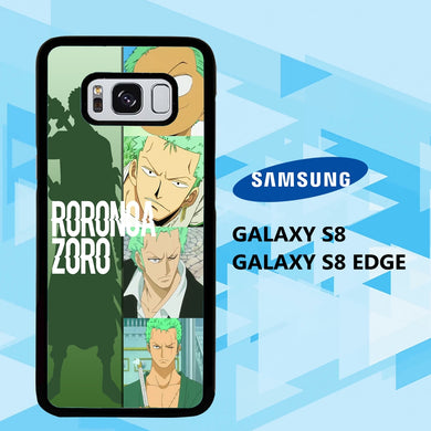 coque samsung galaxy S6 S7 S8 S9 S10 edge case Z7782 zoro wallpaper 148mF4