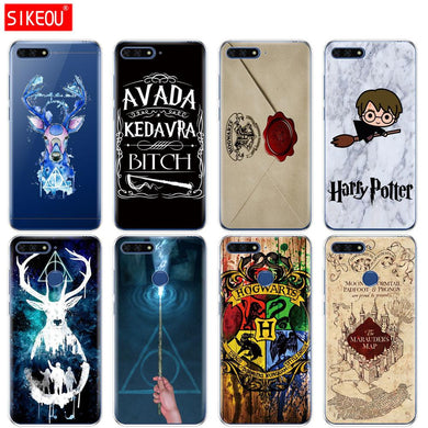 coque harry potter huawei y7 2019