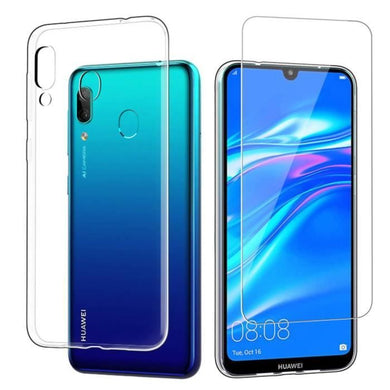 coque huawei y7 2019 semi transparent