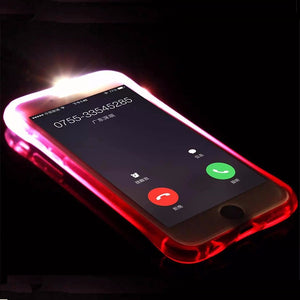 coque iphone 5 flash led