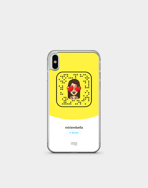 coque iphone 5s snapchat
