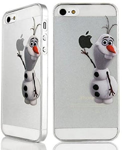coque iphone 5s transparente olaf