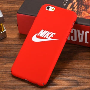 coque iphone 6s nike rouge