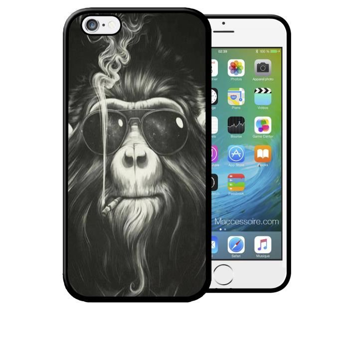 coque iphone 6s singe