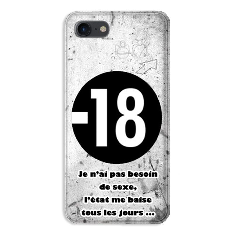 coque iphone 7 humour