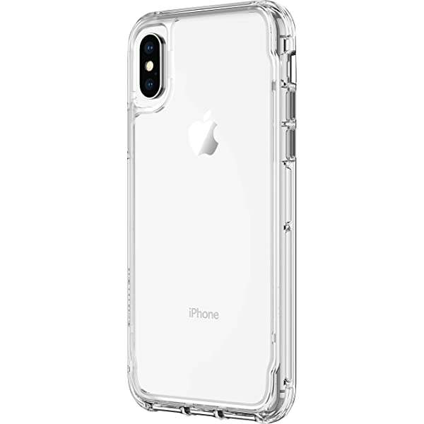 coque iphone x griffin survivor clear