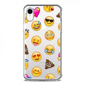 Coque iPhone XR Smiley Emoticone Emoji Transparente souple