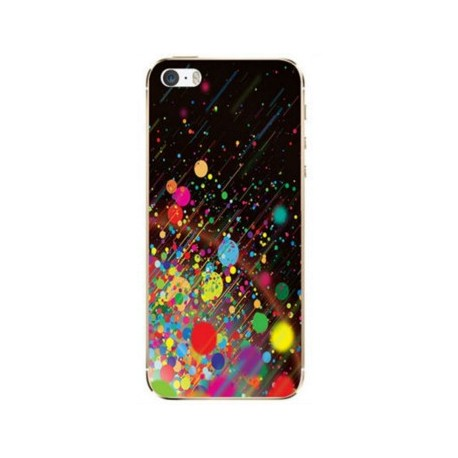 coque multicolore iphone