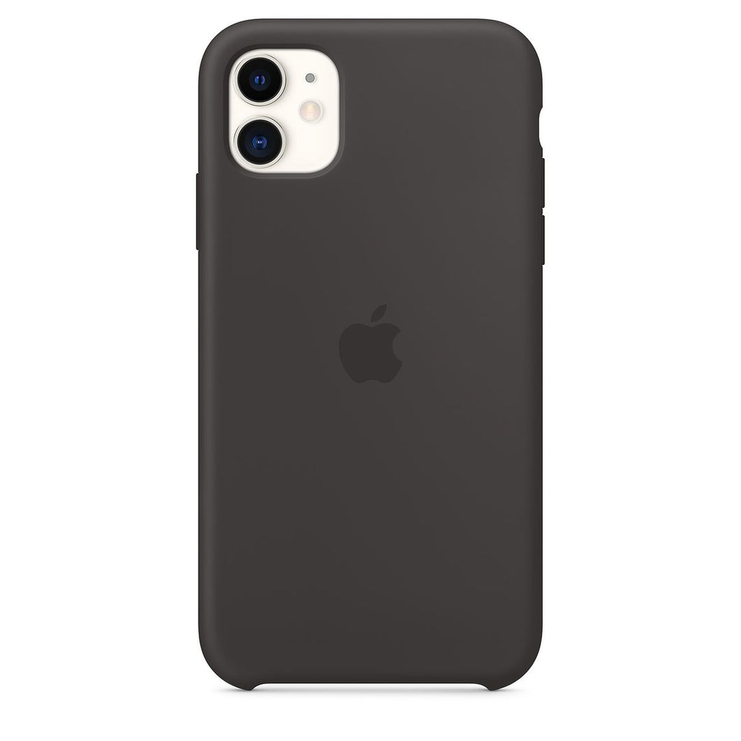 coque silicone iphone noir