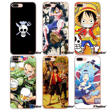 One Piece Sanji Nami Luffy Jinbe Coque souple pour iPhone 11`Pro XS Max  Samsung S10