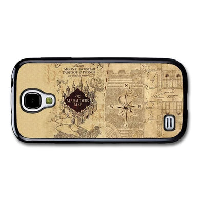 The Marauder's Map Harry Potter Vintage Sepia Book Quote coque pour Samsung  Galaxy S4 mini