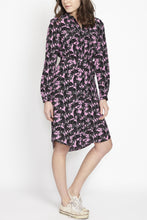 Load image into Gallery viewer, Freesia Shirt Dress in Panther