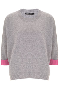 Neon nights Cashmere in Grey