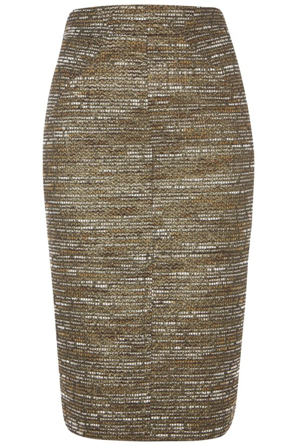 Tabitha_Webb_Skirt_Golden_Patterned_Skirt_Front