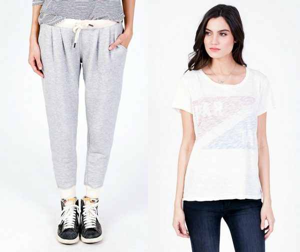 Sol Angeles Jersey Joggers; Partay T-Shirt