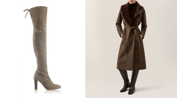 Russell & Bromley boots, Hobbs coat