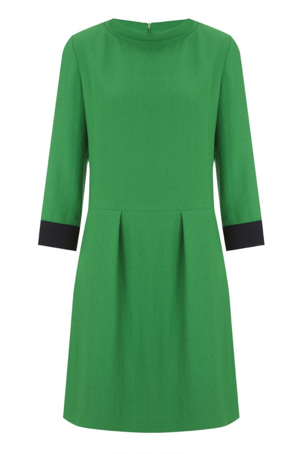 ic:Tabitha Webb | The Edie Dress in Green and Navy