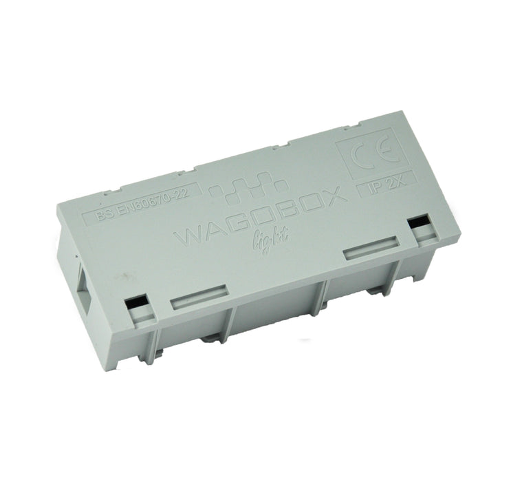 Wagobox-Light Junction Box in Grey