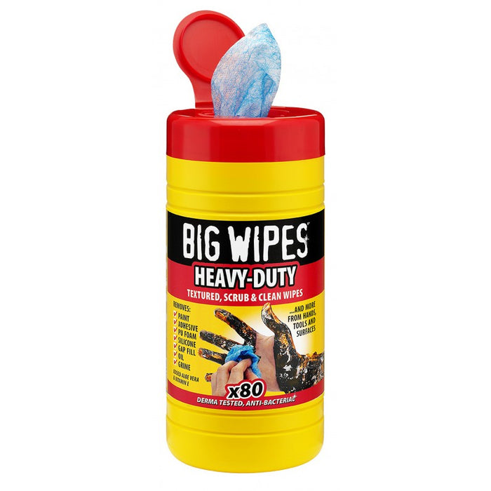 Big Wipes Heavy Duty Antibacterial Cleaning Wipes