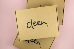 Eco-friendly cleaning subscription box from cleen.