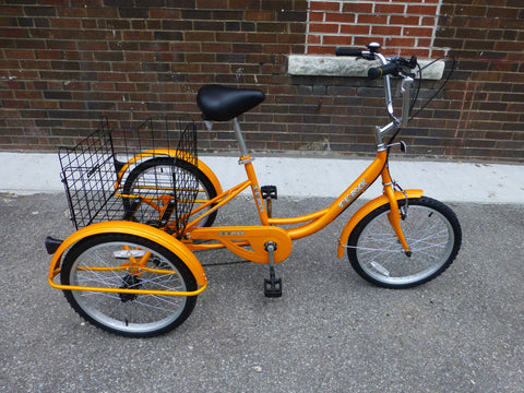 "SOLOROCK 20"" 6 Speed Tricycle - Agile206"