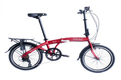 "Wonder - SOLOROCK 20"" 7 Speed Upgraded Steel Folding Bike"