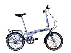 "Hunter - SOLOROCK 20"" Single Speed Upgraded Steel Folding Bike"