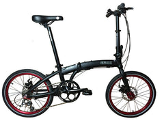 "Wonder - SOLOROCK 20"" 30 Speed Aluminum Folding Bike - Disc Brake"