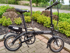 "Mini Cruiser 2020 - SOLOROCK 14"" Mini Cruiser Aluminum Folding e-Bike"
