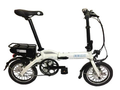 "Mini Cruiser 2019 - SOLOROCK 14"" Mini Cruiser Aluminum Folding e-Bike"